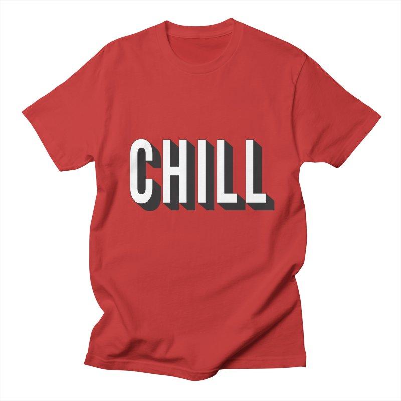 Chill Men's Regular T-Shirt by Quirkitup's Artist Shop