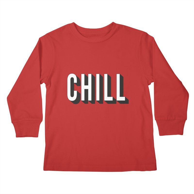 Chill Kids Longsleeve T-Shirt by Quirkitup's Artist Shop