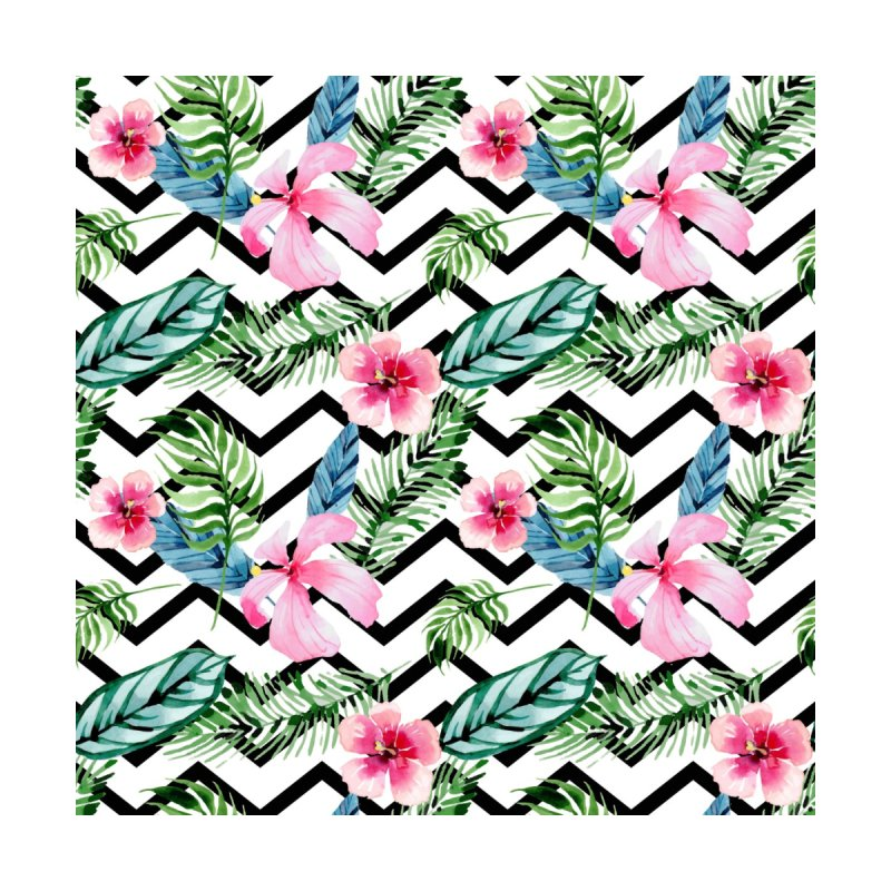 Floral Chevron by Quirkitup's Artist Shop