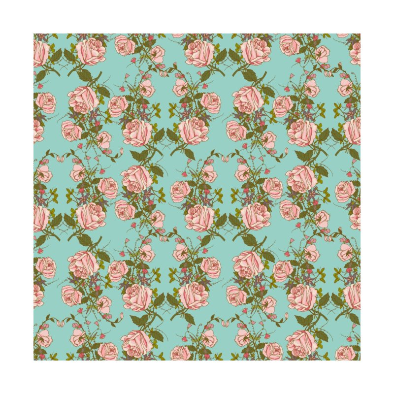 Vintage Rosy Floral by Quirkitup's Artist Shop