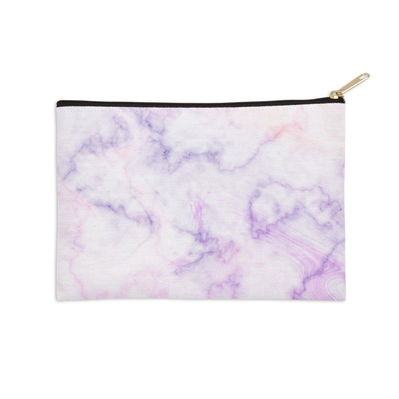 Marble Accessories Zip Pouch by Quirkitup's Artist Shop