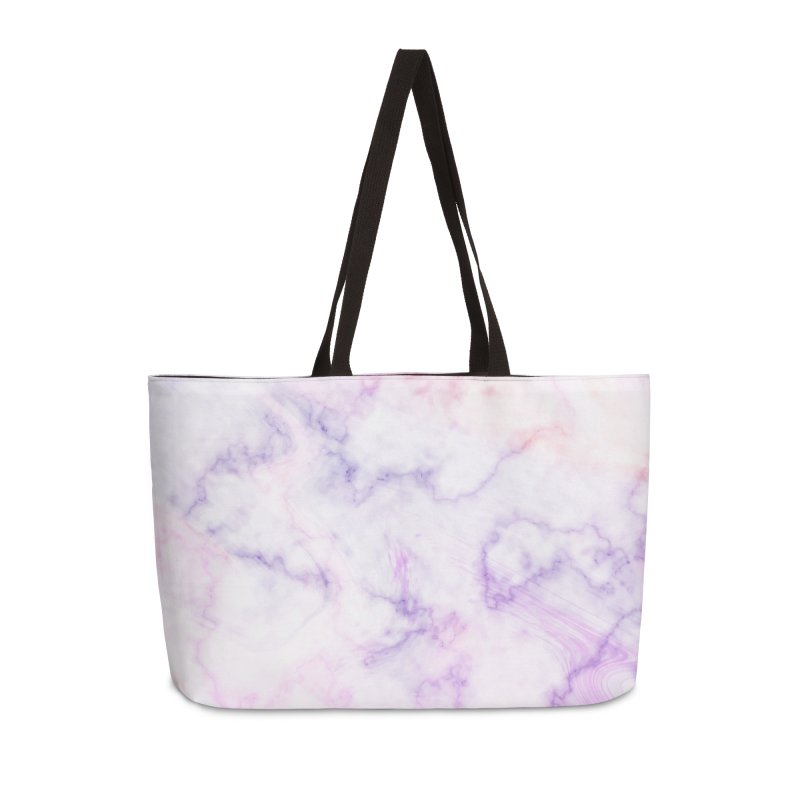 Marble Accessories Weekender Bag Bag by Quirkitup's Artist Shop