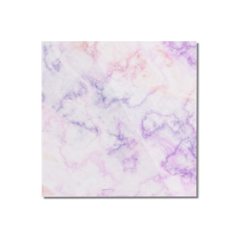 Marble Home Mounted Acrylic Print by Quirkitup's Artist Shop