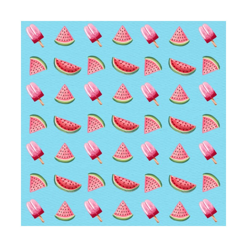 Watermelon Popsicle Pattern by Quirkitup's Artist Shop