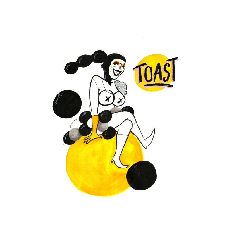 Toast - Act III T-Shirt Men's T-Shirt by qweentoast's Artist Shop