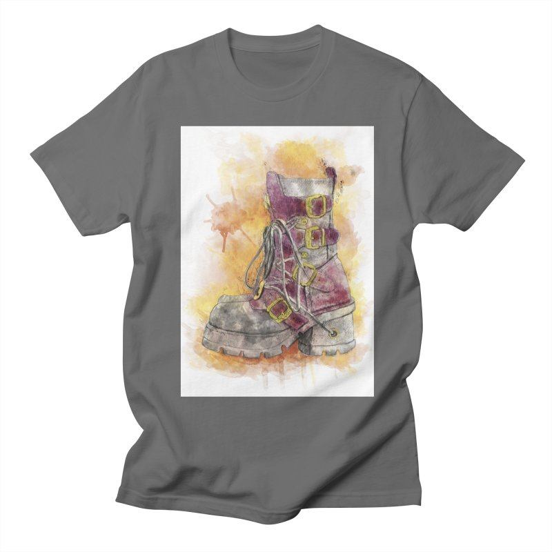 Boots Men's T-Shirt by StuffByRabassa Artist Shop