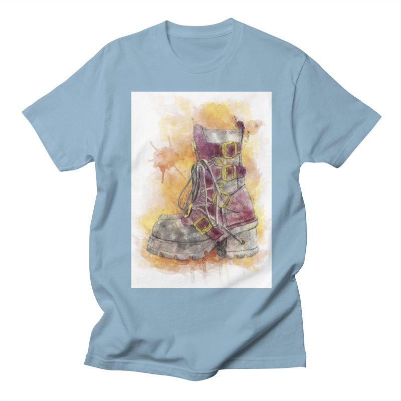 Boots Men's Regular T-Shirt by StuffByRabassa Artist Shop