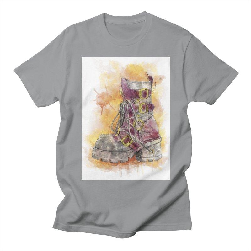 Boots Men's T-Shirt by StuffByRabassa Artist Shop