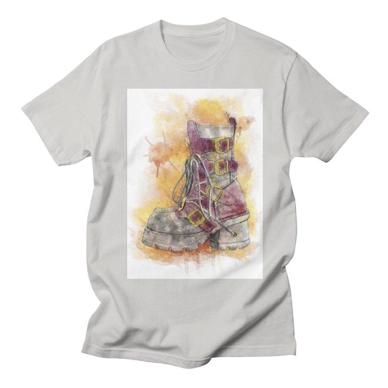 Boots Men's Regular T-Shirt by StuffByRabassa Artist Shop