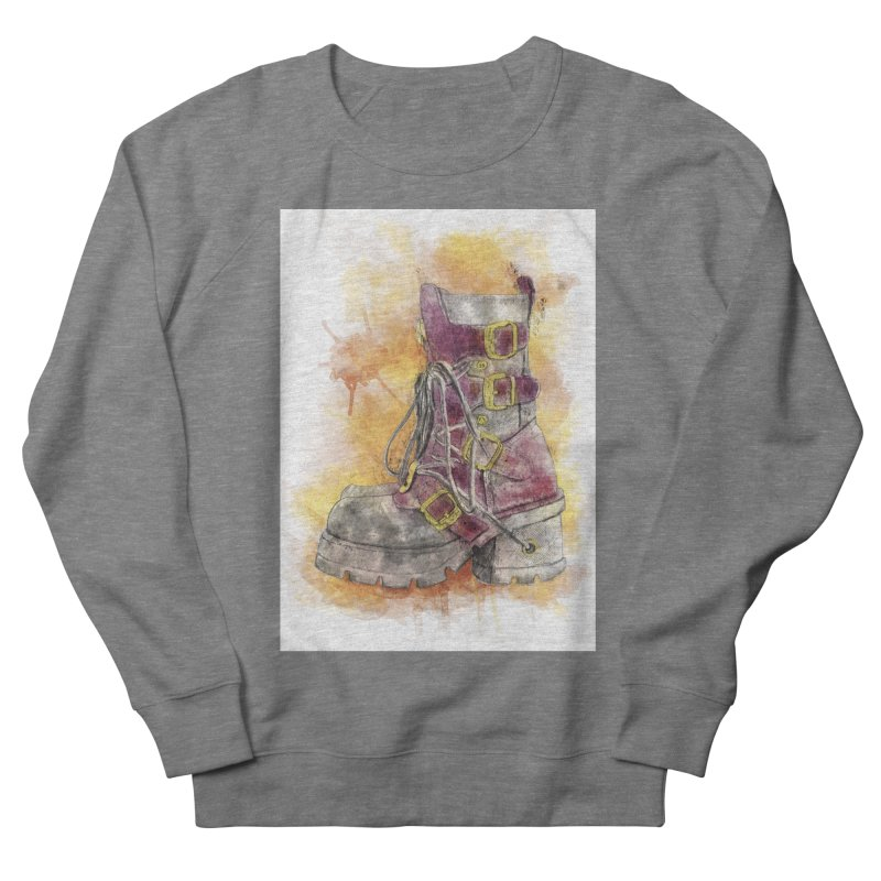 Boots Men's French Terry Sweatshirt by StuffByRabassa Artist Shop