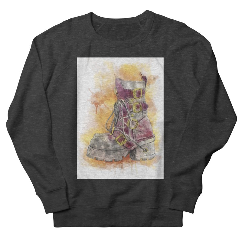 Boots Men's Sweatshirt by StuffByRabassa Artist Shop