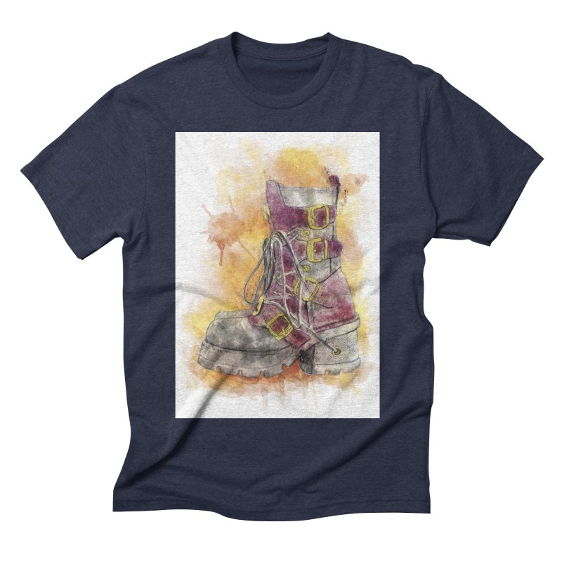 Boots Men's Triblend T-Shirt by StuffByRabassa Artist Shop