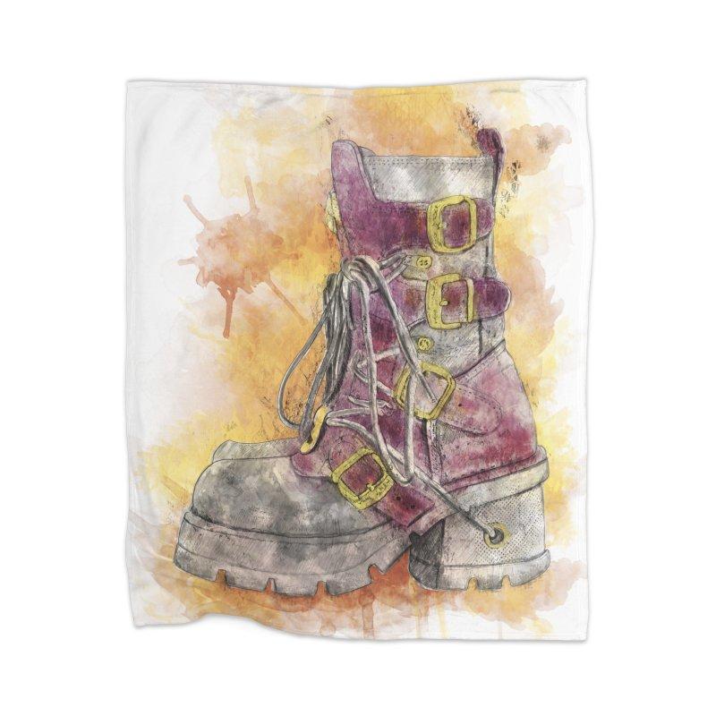 Boots Home Blanket by StuffByRabassa Artist Shop