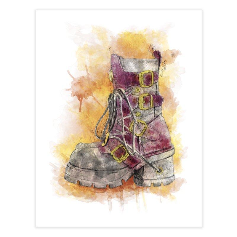 Boots Home Fine Art Print by StuffByRabassa Artist Shop