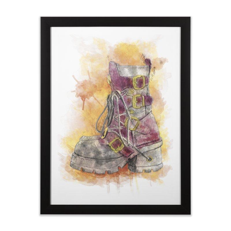 Boots Home Framed Fine Art Print by StuffByRabassa Artist Shop