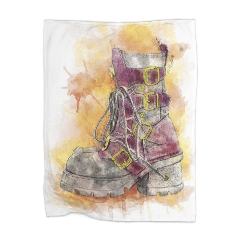 Boots Home Blanket by StuffByRabassa Artist Shop