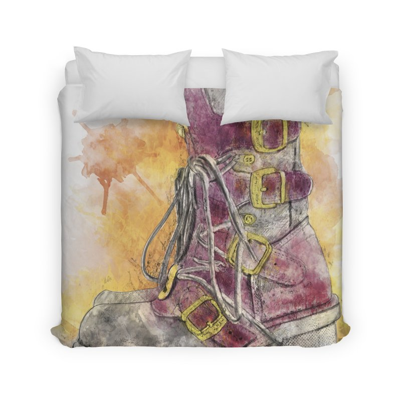 Boots Home Duvet by StuffByRabassa Artist Shop