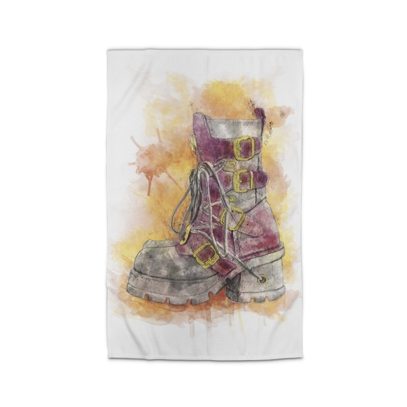 Boots Home Rug by StuffByRabassa Artist Shop