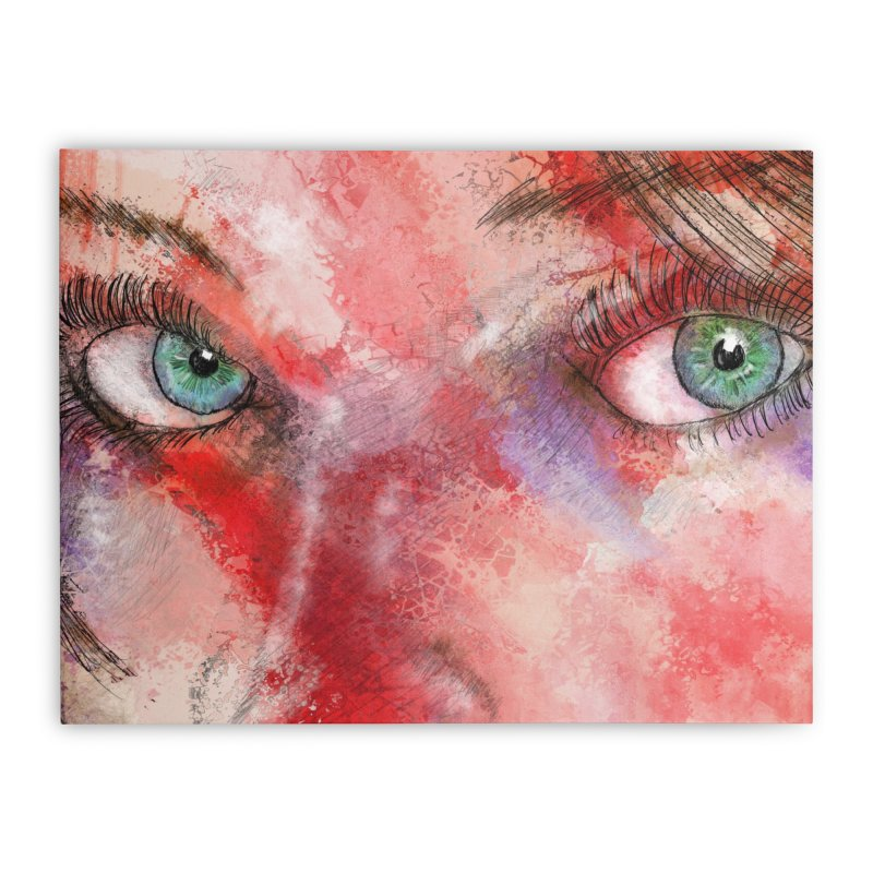 Eyes Home Stretched Canvas by StuffByRabassa Artist Shop