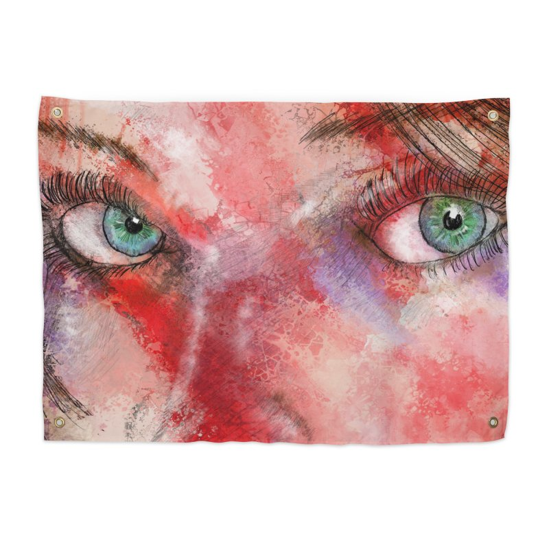 Eyes Home Tapestry by StuffByRabassa Artist Shop
