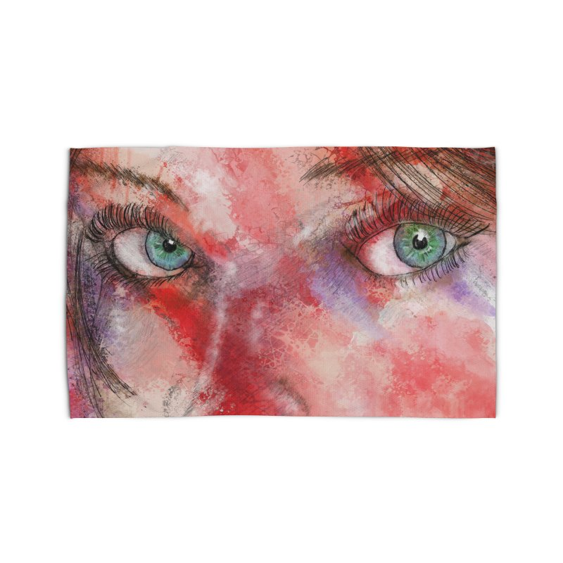 Eyes Home Rug by StuffByRabassa Artist Shop