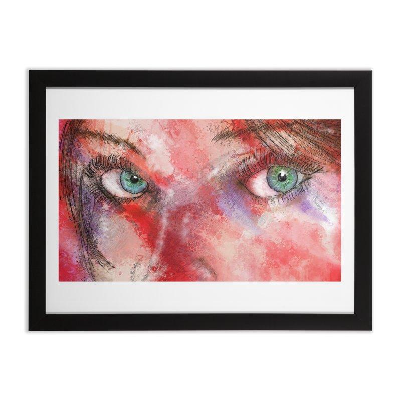Eyes Home Framed Fine Art Print by StuffByRabassa Artist Shop