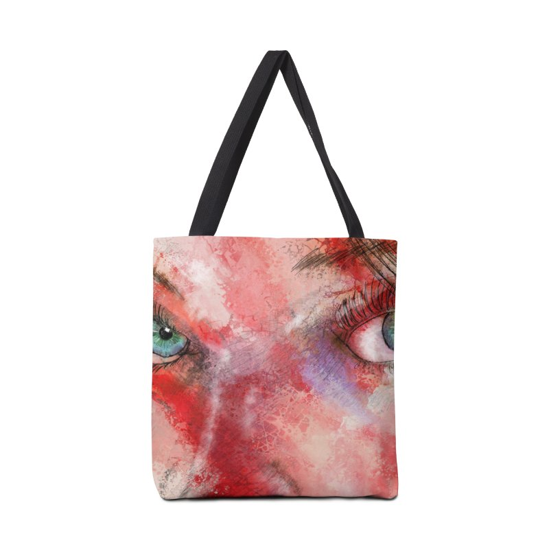 Eyes Accessories Bag by StuffByRabassa Artist Shop