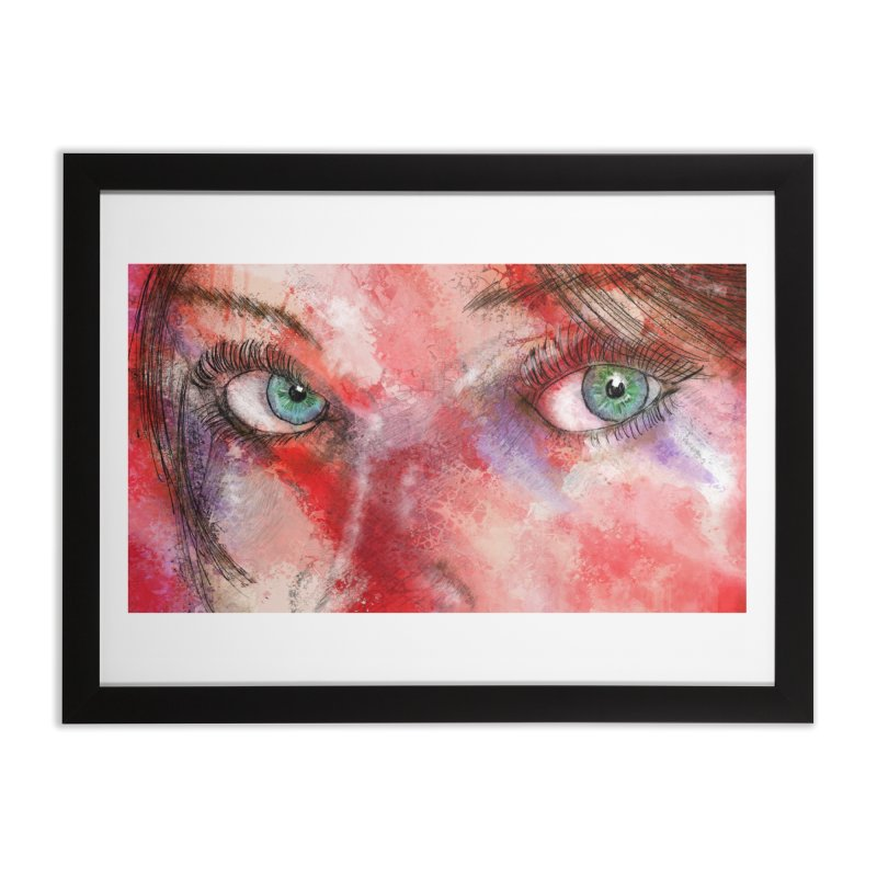 Eyes Home Framed Fine Art Print by StuffByRabassa Artist Shop