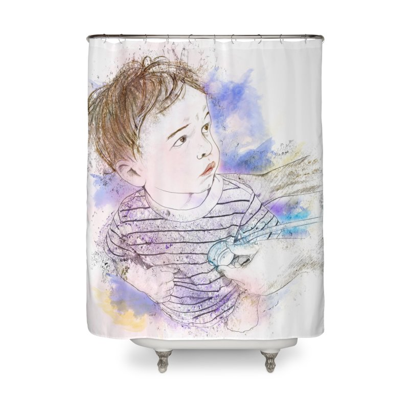 The Checkup Home Shower Curtain by StuffByRabassa Artist Shop