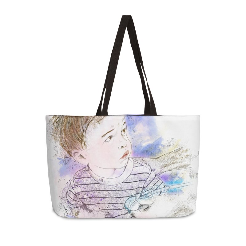 The Checkup Accessories Weekender Bag Bag by StuffByRabassa Artist Shop
