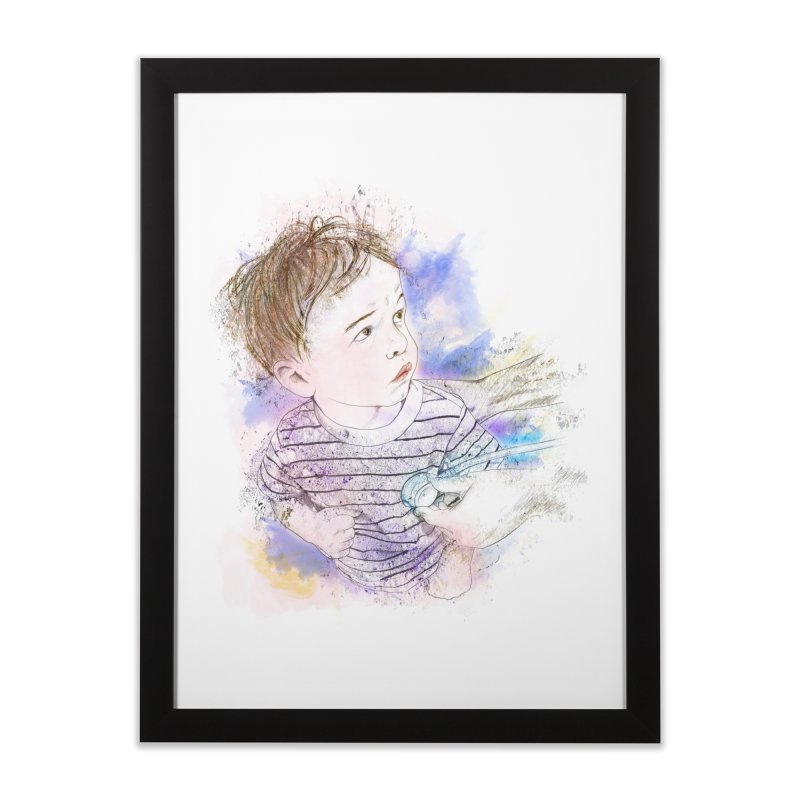 The Checkup Home Framed Fine Art Print by StuffByRabassa Artist Shop