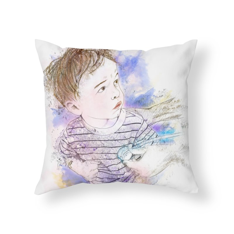 The Checkup Home Throw Pillow by StuffByRabassa Artist Shop
