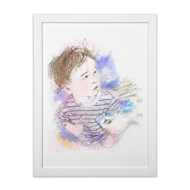 The Checkup Home Framed Fine Art Print by StuffByRabassa Artist Shop