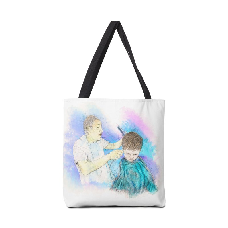 The Haircut Accessories Tote Bag Bag by StuffByRabassa Artist Shop