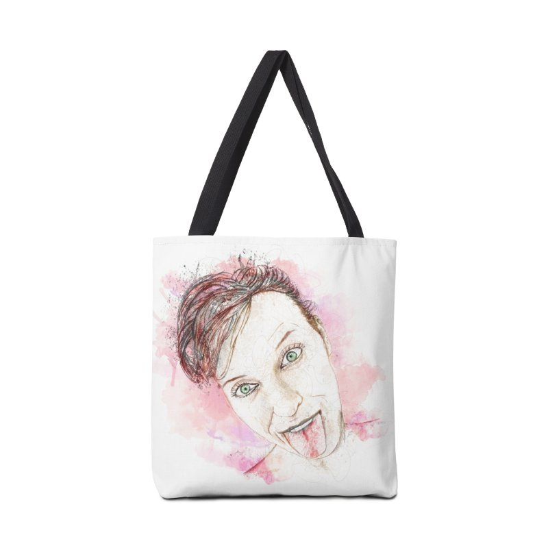 Crazy Wife Accessories Bag by StuffByRabassa Artist Shop