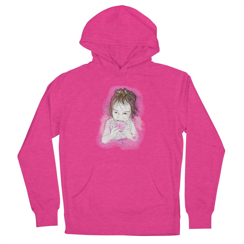 Cupcake Men's French Terry Pullover Hoody by StuffByRabassa Artist Shop