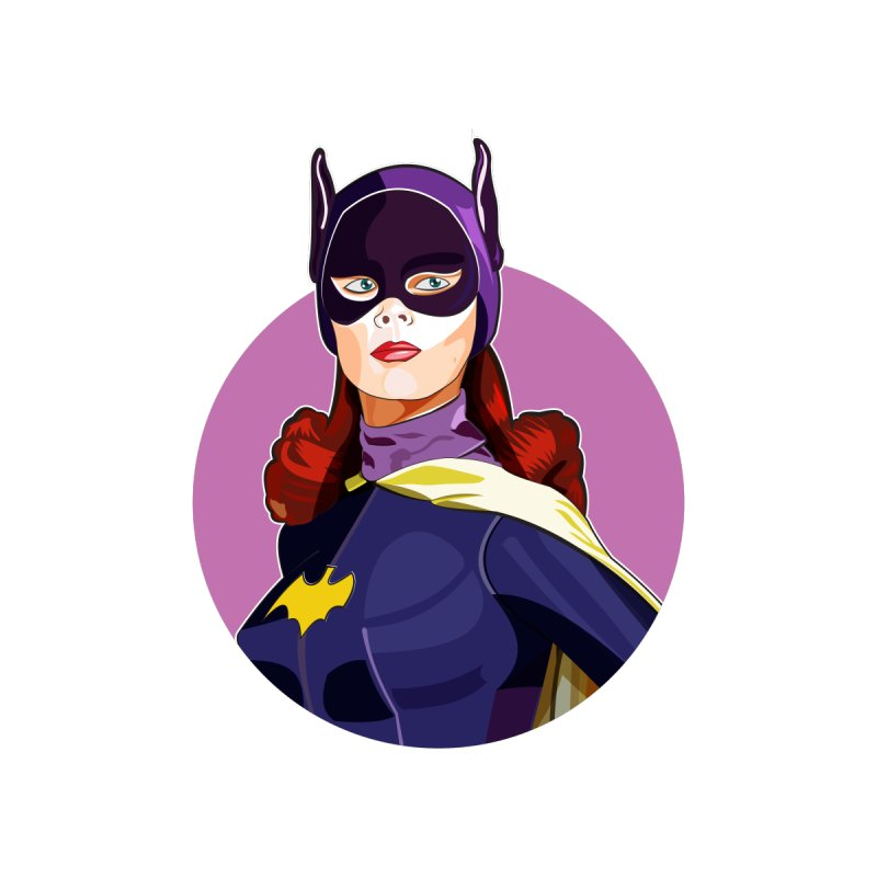 Batgirl Women's T-Shirt by StuffByRabassa Artist Shop