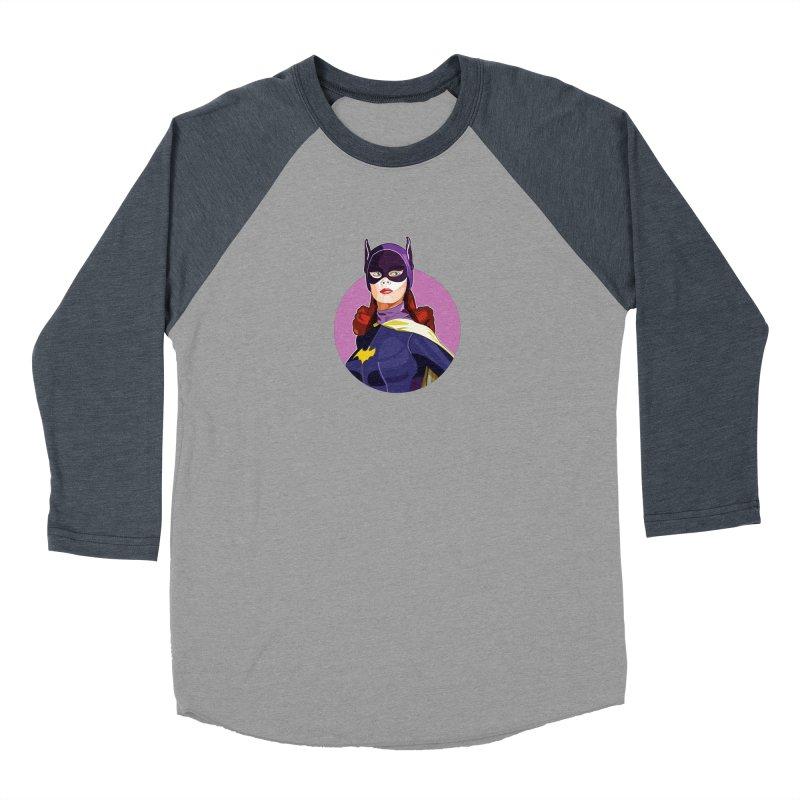 Batgirl Men's Baseball Triblend Longsleeve T-Shirt by StuffByRabassa Artist Shop
