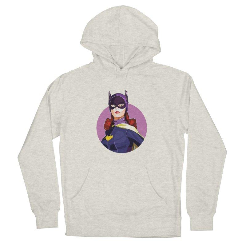 Batgirl Men's Pullover Hoody by StuffByRabassa Artist Shop