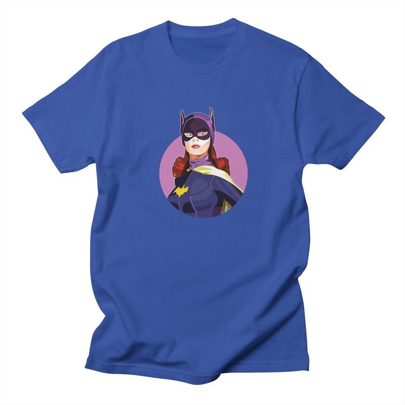 Batgirl Men's T-shirt by StuffByRabassa Artist Shop