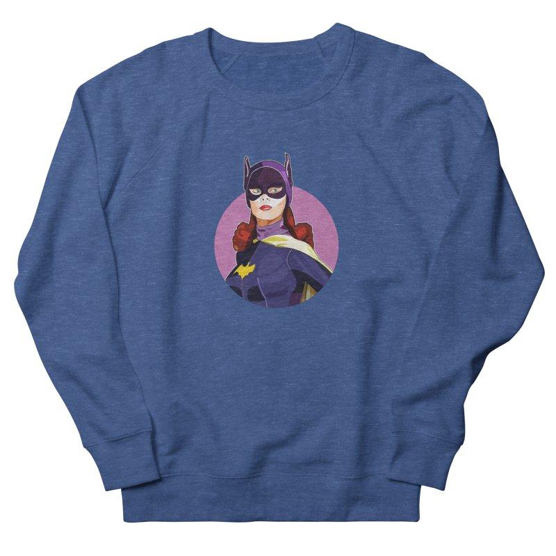 Batgirl Women's French Terry Sweatshirt by StuffByRabassa Artist Shop