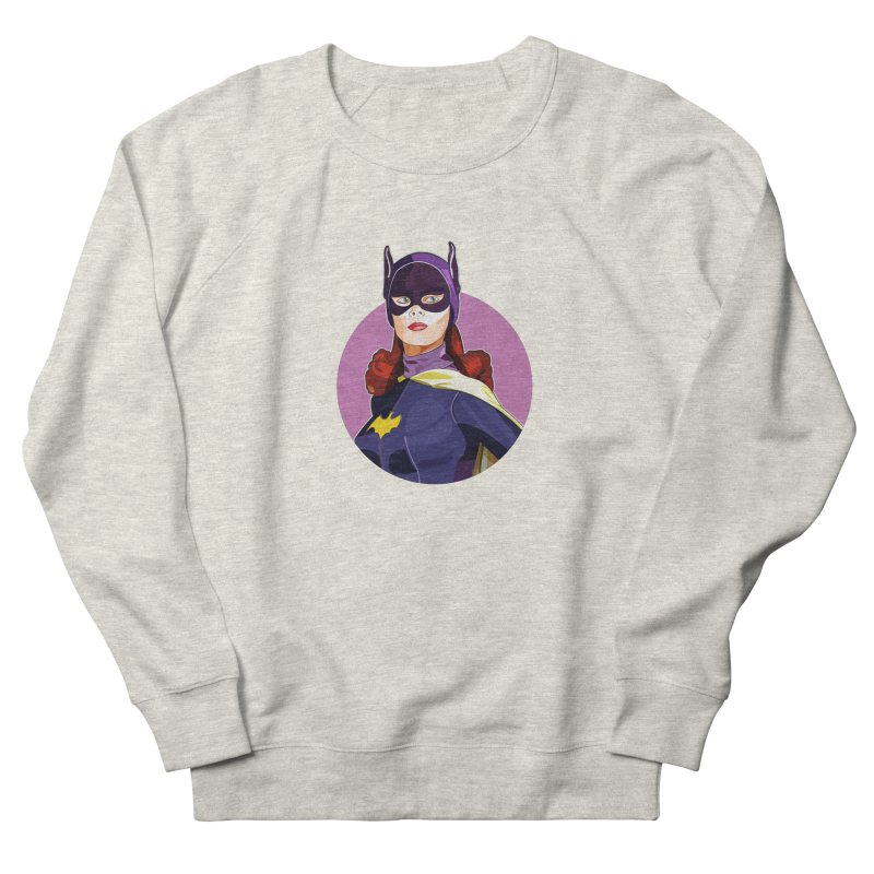 Batgirl Men's Sweatshirt by StuffByRabassa Artist Shop