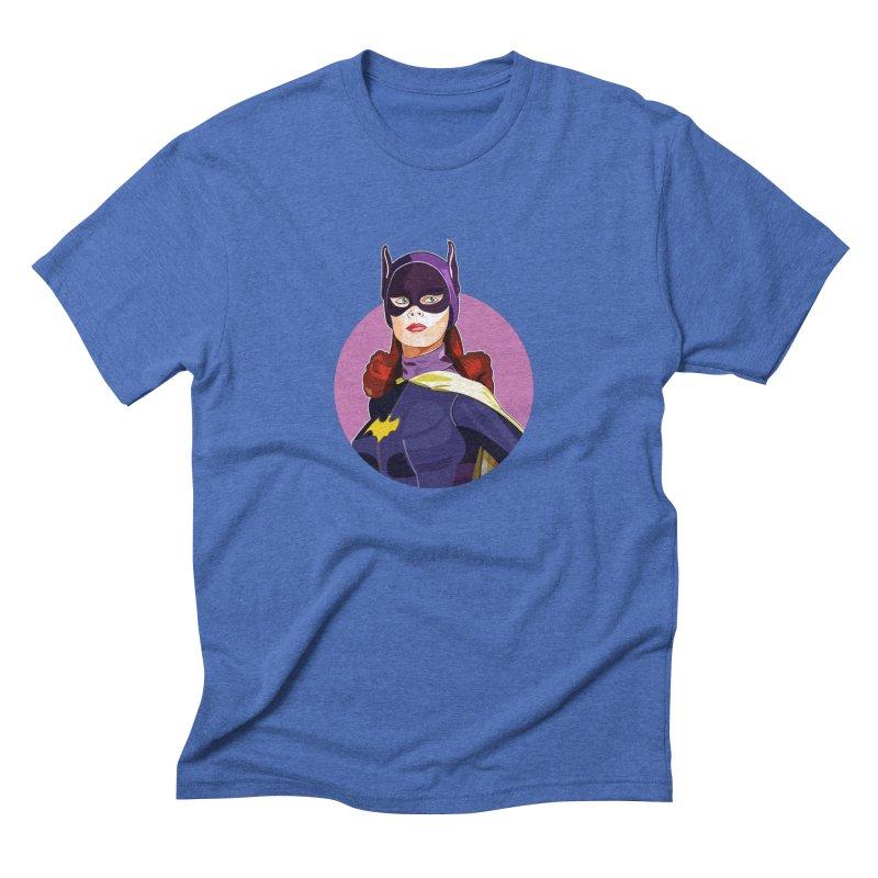 Batgirl Men's Triblend T-Shirt by StuffByRabassa Artist Shop
