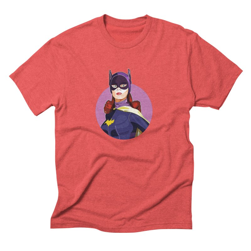 Batgirl Men's Triblend T-Shirt by StuffByRabassa Artist Shop