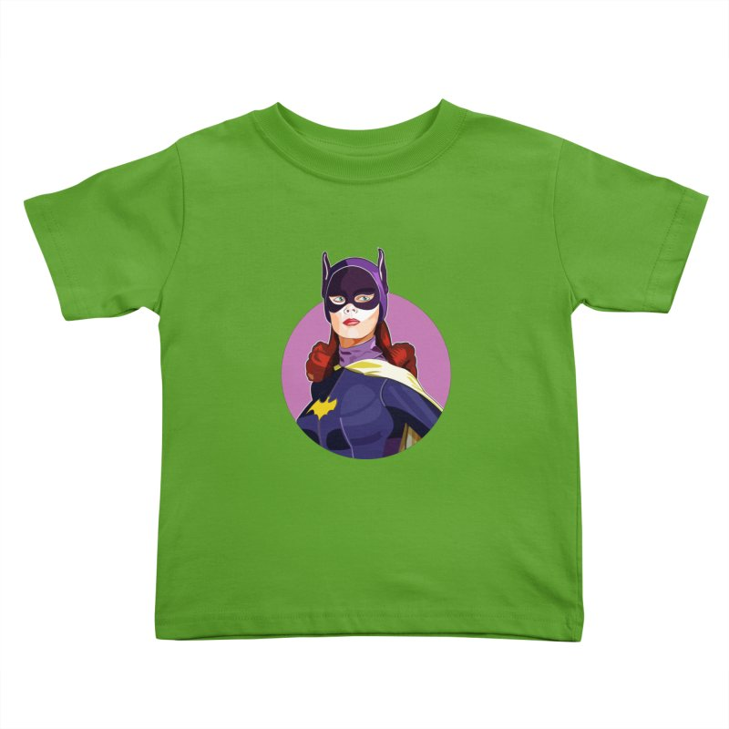 Batgirl Kids Toddler T-Shirt by StuffByRabassa Artist Shop