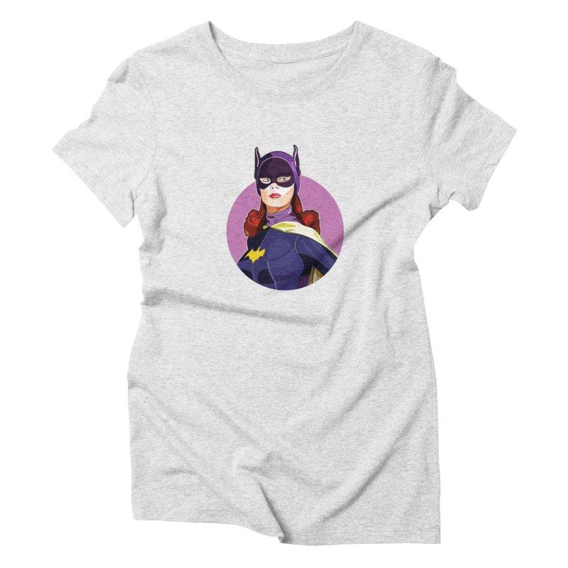 Batgirl Women's T-Shirt by StuffByRabassa Artist Shop