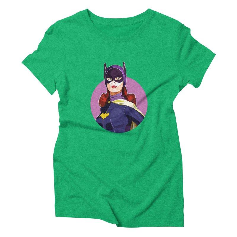 Batgirl Women's Triblend T-Shirt by StuffByRabassa Artist Shop