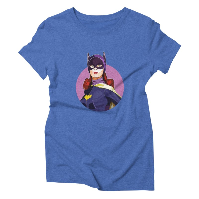 Batgirl Women's Triblend T-Shirt by StuffByRabassa Artist Shop