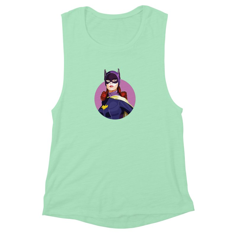 Batgirl Women's Muscle Tank by StuffByRabassa Artist Shop
