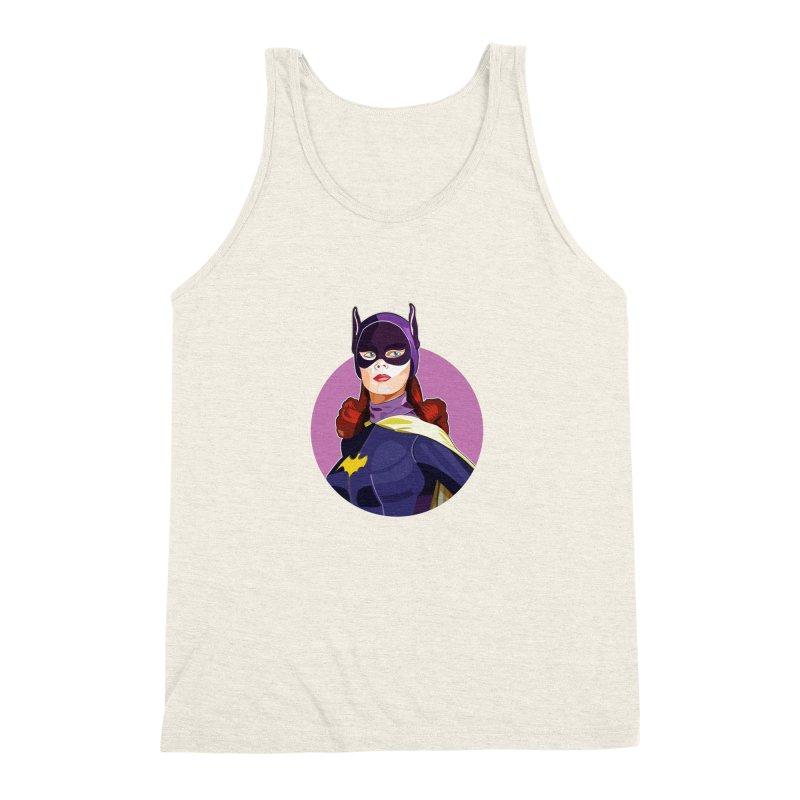 Batgirl Men's Triblend Tank by StuffByRabassa Artist Shop
